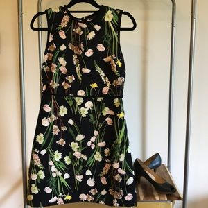 Victoria Beckham for Target Floral Dress